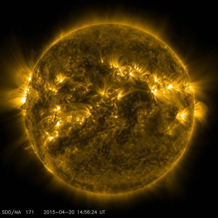Regiones Activas del Sol